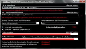 CSV_Deduplikacja
