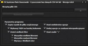 CSV_Czyszczenie_Baz_Danych