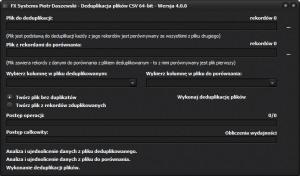 CSV_Deduplikacja_Baz_Danych