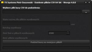 CSV_Dzielenie_Baz_Danych