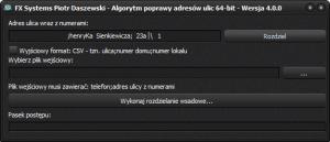 CSV_Rozdzielanie_Nazw_Ulic_od_Numerow