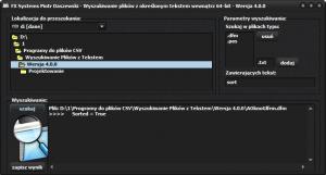 CSV_Wyszukiwanie_Plikow_z_Tekstami